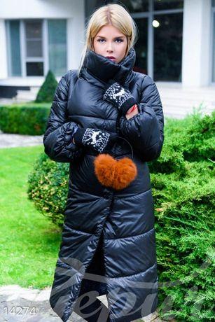 пальто дутое размер С