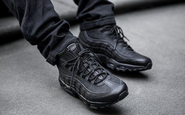 Nike Air Max 95 Sneakerboot 2020 Black (артjuc)