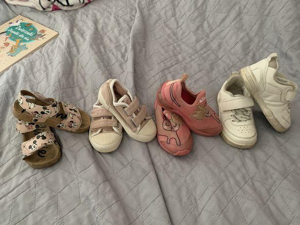 Zestaw bucików dla dziewczynki roz 23