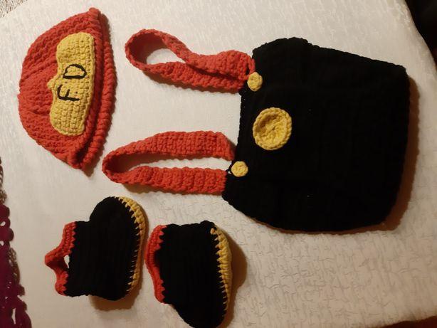Kostium strażak strój maluszek foto sesja