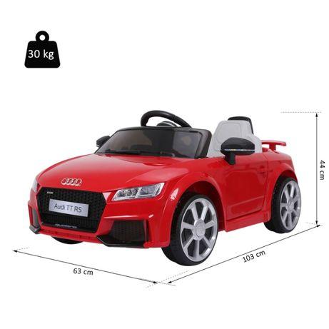 Audi TT RS NOWE Auto samochód elektryczny zdalnie sterowany DLA DZIECI