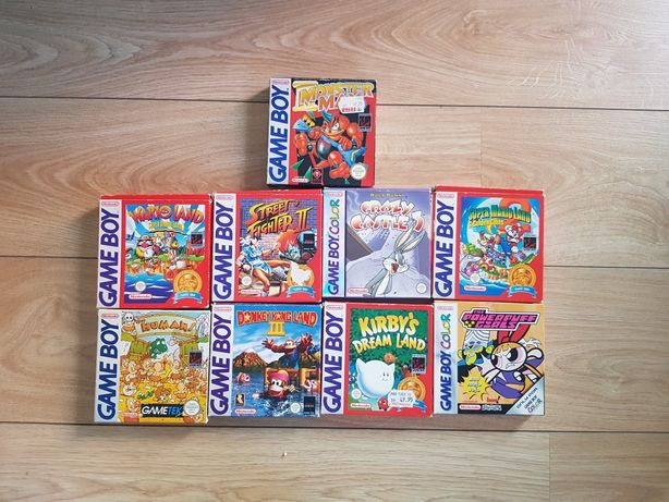Jogos gameboy em caixa original