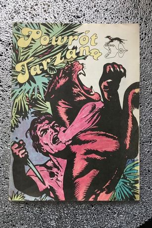 Komiks Powrot Tarzana