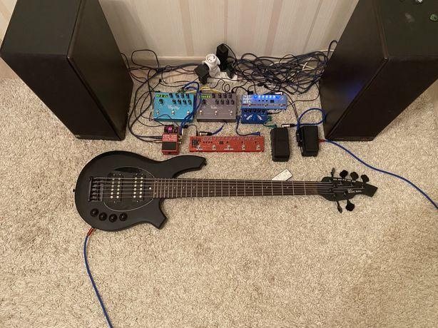 Бас гитара - Music Man Bongo 6 H/H