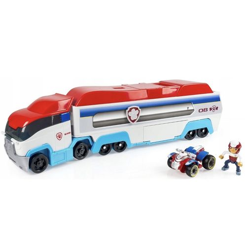Psi Patrol Patrolowiec Transporter + Quad + Ryder