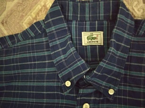 Рубашка фирмы Lacoste 48 размер