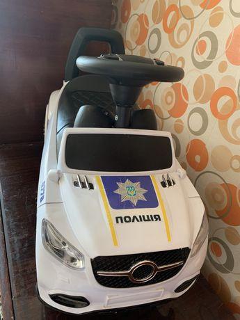 Полиция толокар - машина