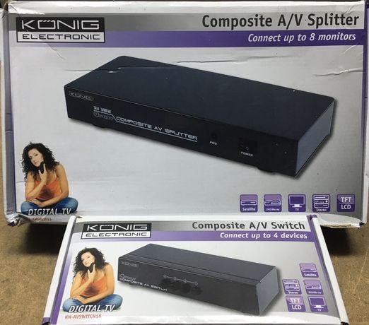 KONIG Switch e Spliter
