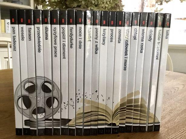 MATURA - 20 lektur na DVD  film+ opracowanie
