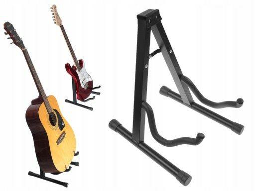 Stojak statyw na gitarę ,składany blokada