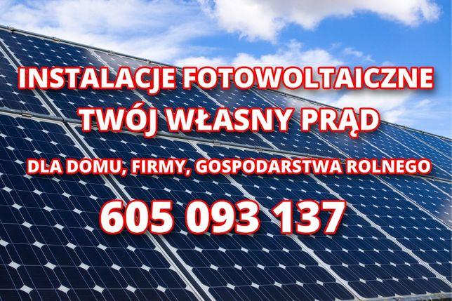 Instalacje Fotowoltaiczne , Fotowoltaika 3-50 KW,kredytowanie,mój prąd