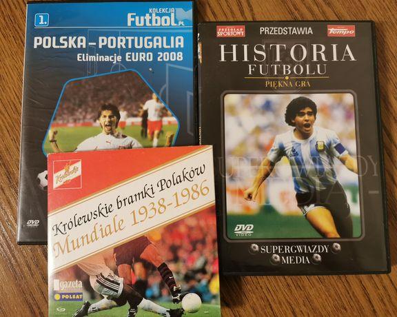 Płyty DVD Mundiale i Historia futbolu