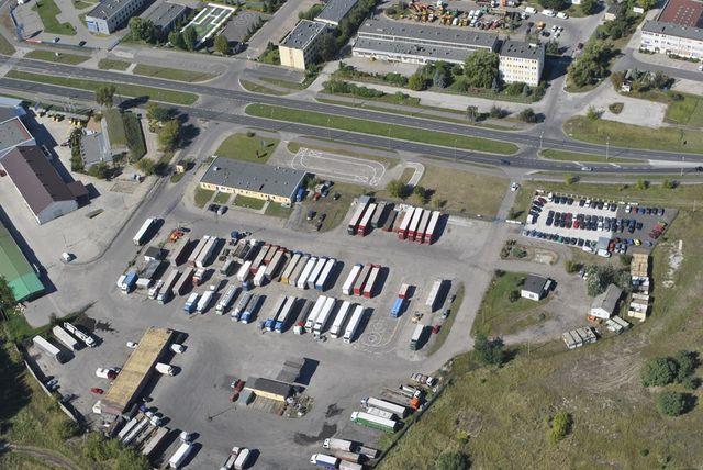 Parking TIR, Toruń, ul. Polna