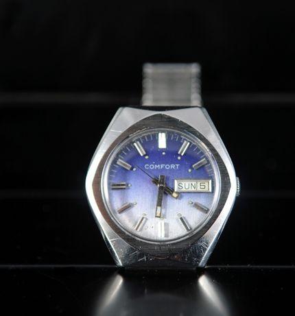 Raro Relógio Suíço Vintage Confort - primeiras máquinas quartz