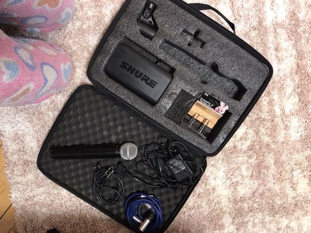 Беспроводной микрофон SHURE SM58