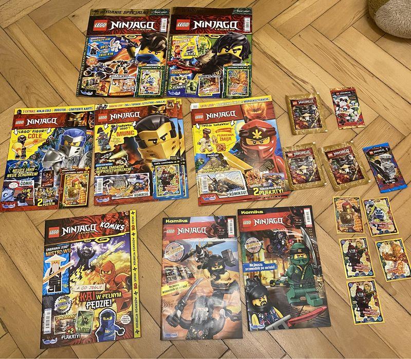 Ninjago LEGO gazetki komiksy karty czasopismo Warszawa - image 1