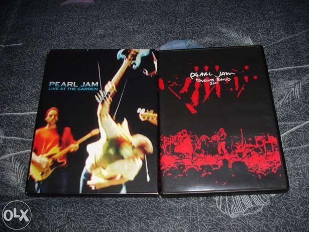 Pack dvd's pearl jam