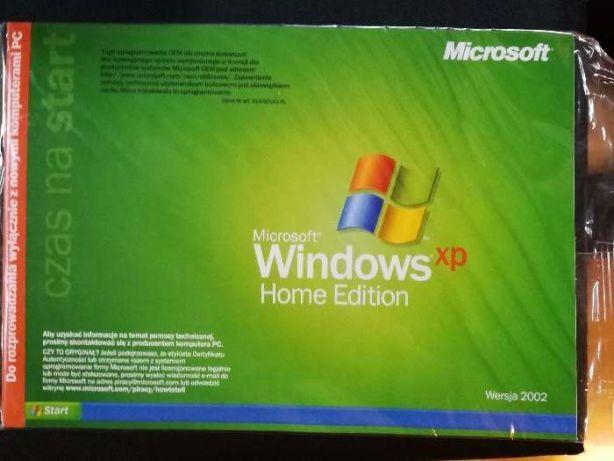 Windows XP Home Edition PL sam nośnik!