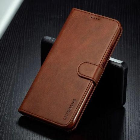 Кожаный чехол книжка на для Xiaomi Redmi 9 Note 9 9s 9 Pro Redmi 6A 7A