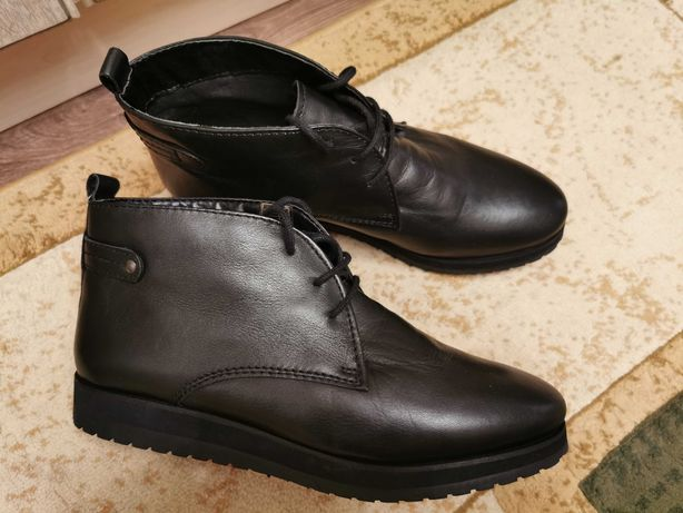 Кожаные ботинки Nike Lunar
