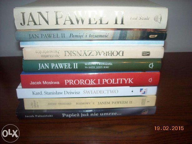 Książki :O Janie Pawle II