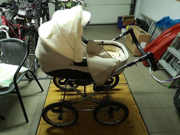 Wózek dziecięcy 2in1 2w1 Bebetto Fabio retro dla dzieci dziecka