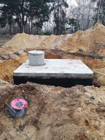 Zbiornik 9m3 na gnojówkę betonowy szambo betonowe na gnojowicę