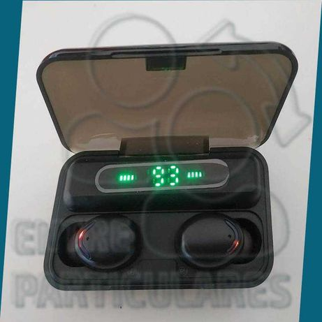 TWS Fones Bluetooth Estojo PowerBank 2000mah Auriculares P0030W