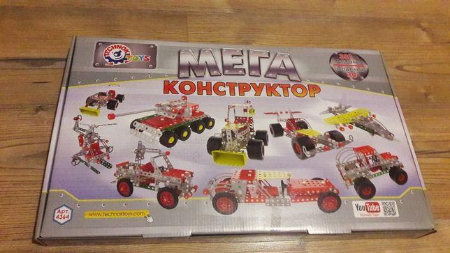 Металлический конструктор Мегауниверсал ТМ Технок в наличии.