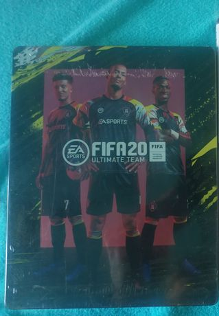 Okazja Steelbook nowy, folia FIFA 20 ps4 xbox one pc