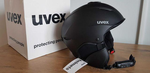 Nowy kask narciarski Uvex Primo 55-59