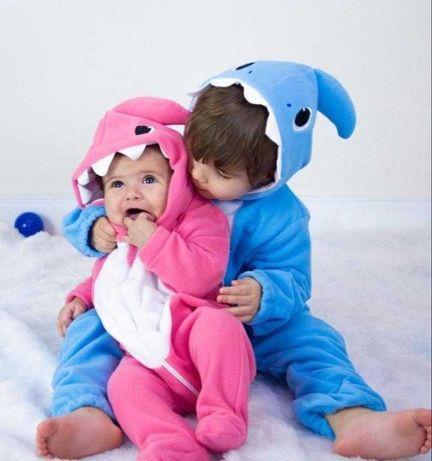 Macacão bebé e criança - animais