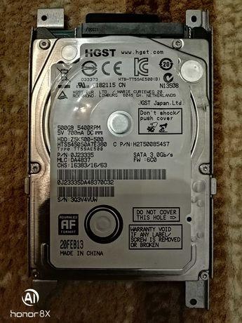 Продам жесткий диск для ноутбука 500гб