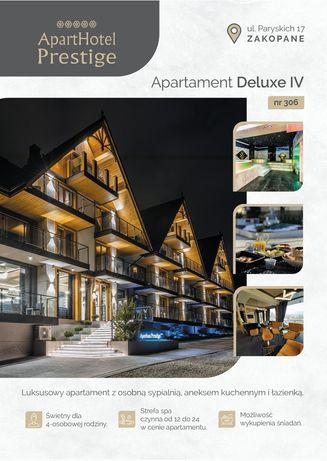 Wrzesień Aparthotel Prestige Apartament Deluxe IV nr 306