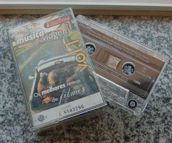K7 cassete de música de viagem