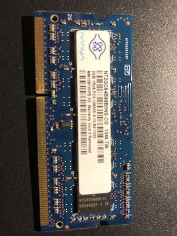 Memoria RAM 2GB PC3 10600S 144pins