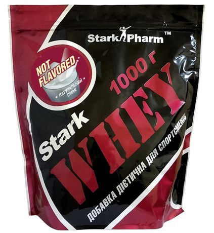 Протеин сывороточный Stark Pharm Whey 1000 г Киев магазин аминокислоты