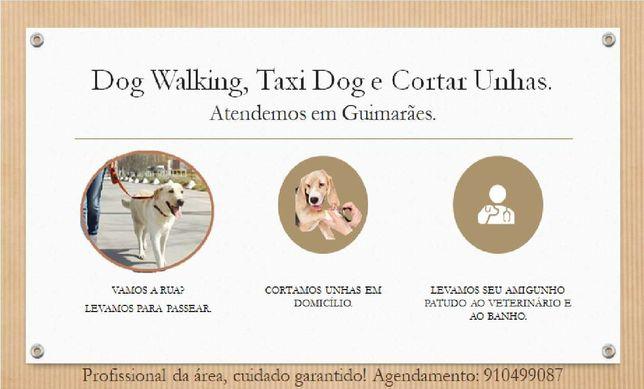 Dog Wakking, Taxi Dog e Cortar Unhas.