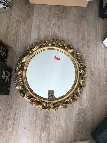 Espelho Zara home dourado