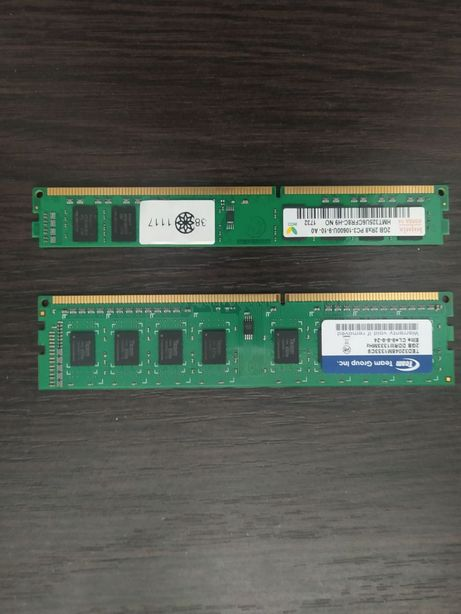 Планки памяти DDR 3. По 2 Gb.