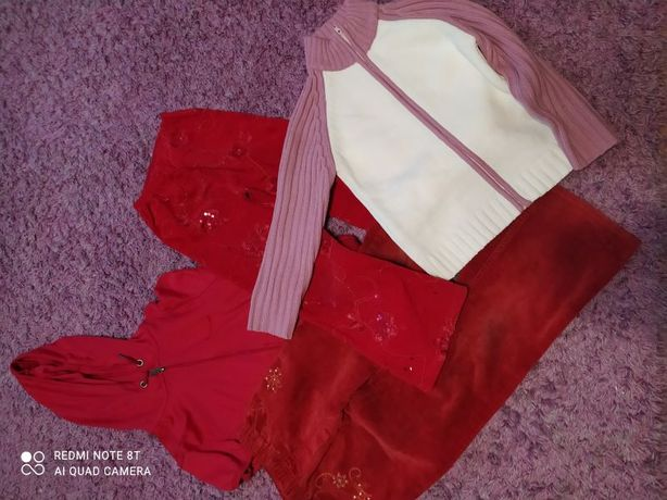 Zestaw ubrań młodzieżowych rozmiar 140 - 146
