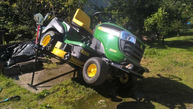 Podnośnik do kosiarki traktorka ogrodowego
