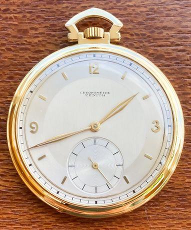 Relógio de bolso Zenith OURO cronómetro 1926