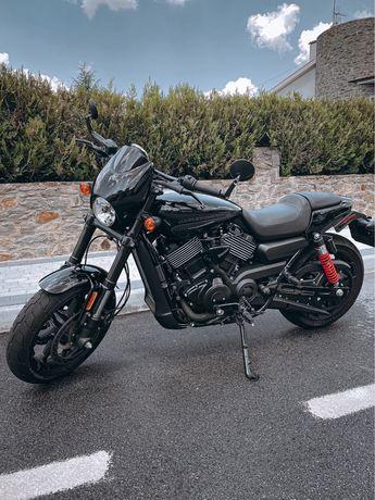 Vendo Harley Street Rod 750 c/ Garantia
