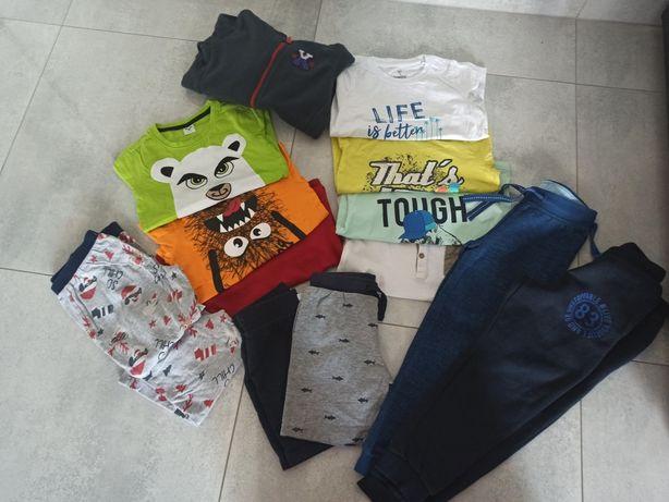 Zestaw ubrań dla chłopca 110- 116