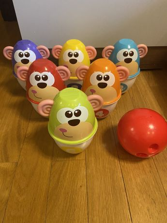 Chicco Fit & Fun Bowling kolorowe kręgle 5228