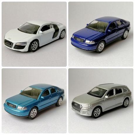 Audi A4 Audi R8 Audi Q7 rozmiar jak Hot Wheels czy Matchbox