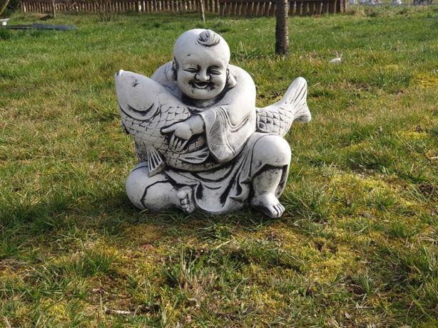 Figura ogrodowa Budda z Rybą Producent