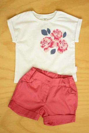 Костюм для девочки КС432 Бемби 110 см Розовый / белый