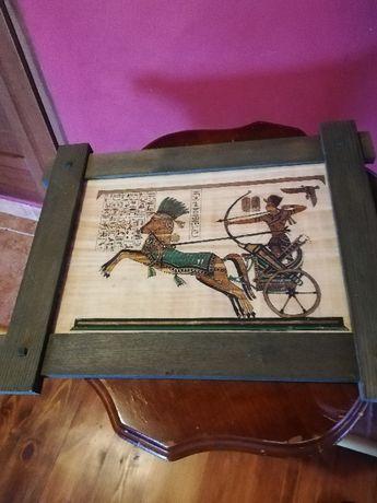 obrazek w ramce zielonej
